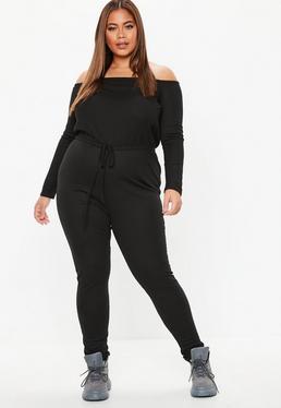 Off Shoulder Jumpsuits Shop Bardot Jumpsuits Missguided
