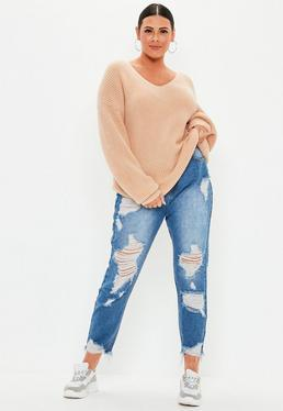 c7b53079f82 Plus Size Knitwear   Plus Size Cardigans - Missguided+