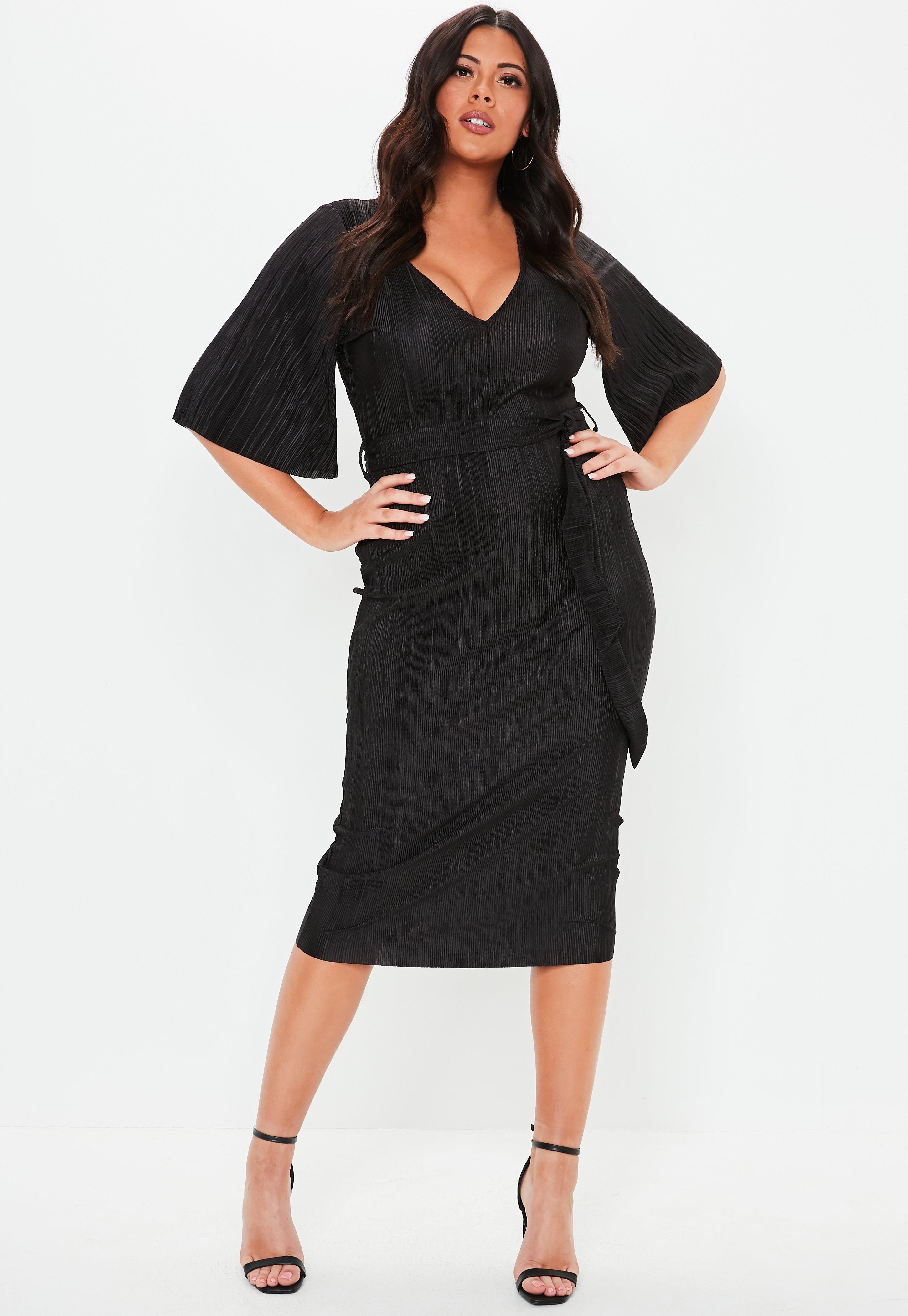 Kleider mit V-Ausschnitt   tiefem Ausschnitt - Missguided DE 370efe02c7