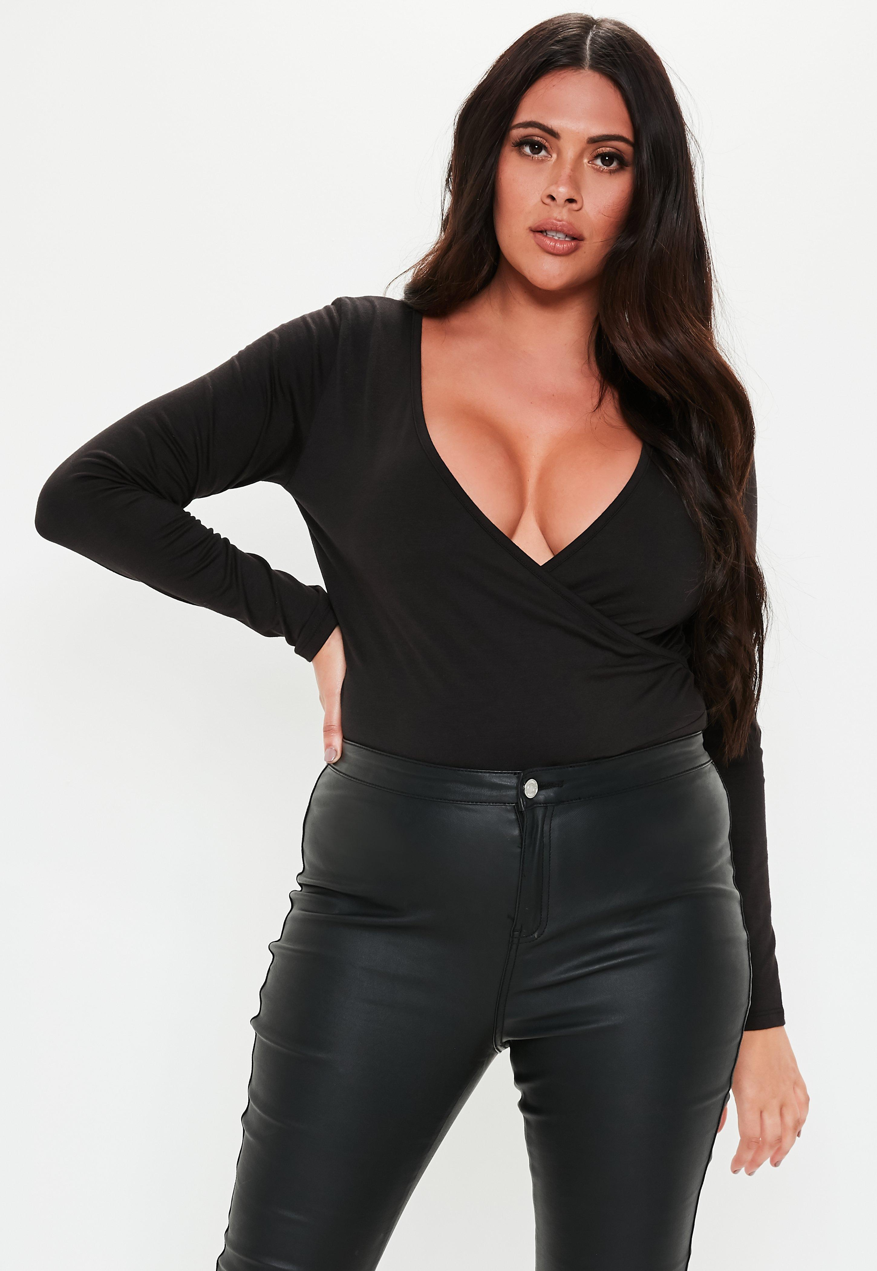 Body femme manche longue - Missguided 934ee7524f4