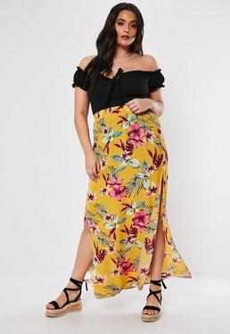 85d402a77a2f Maxi Skirts | Long & Floor Length Skirts - Missguided