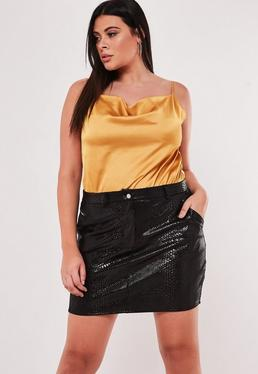 3bcd177a3 Faux Leather Skirts | Leather Look & PU Skirts - Missguided