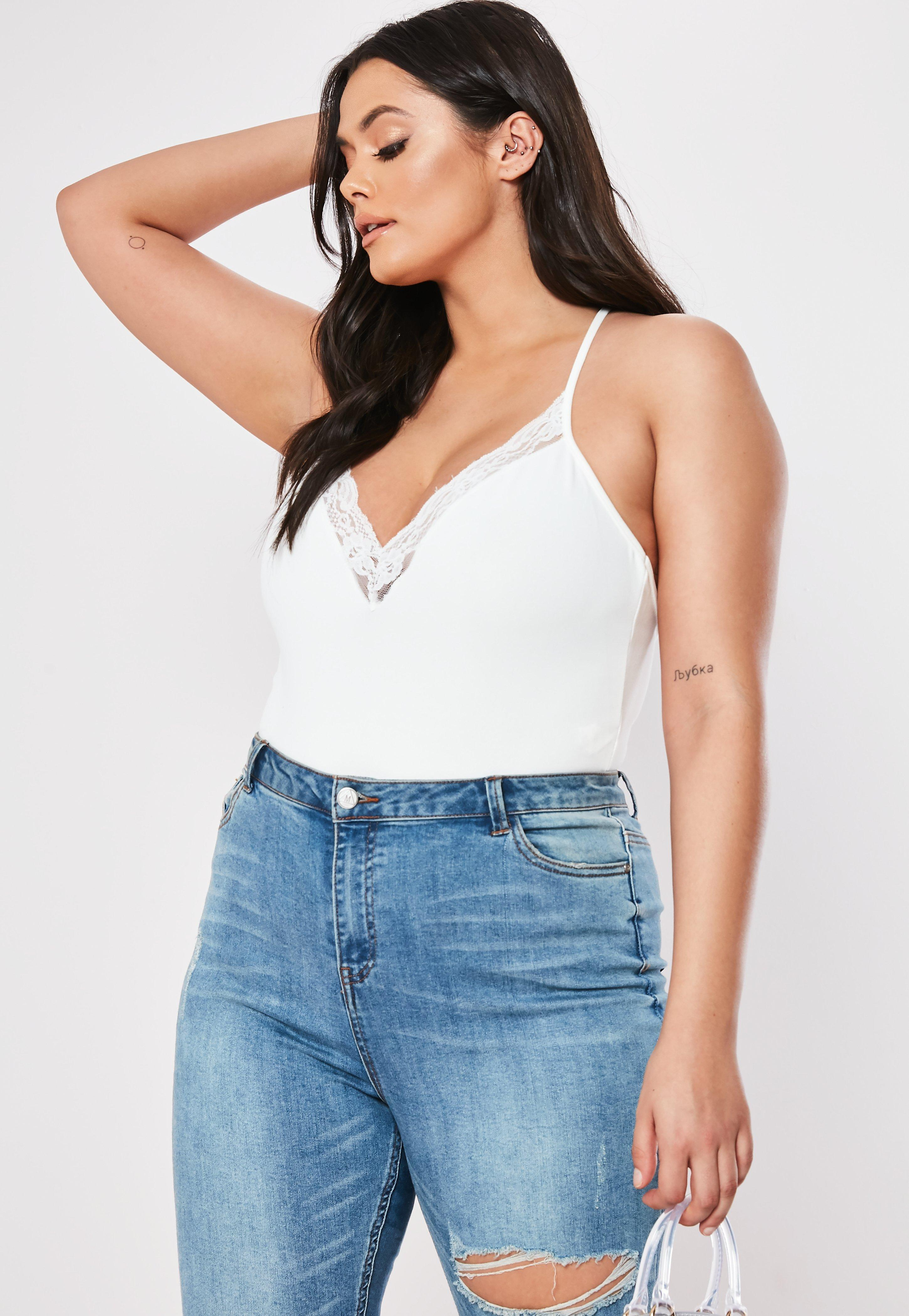 3ee98ad94711 White Bodysuits - Missguided