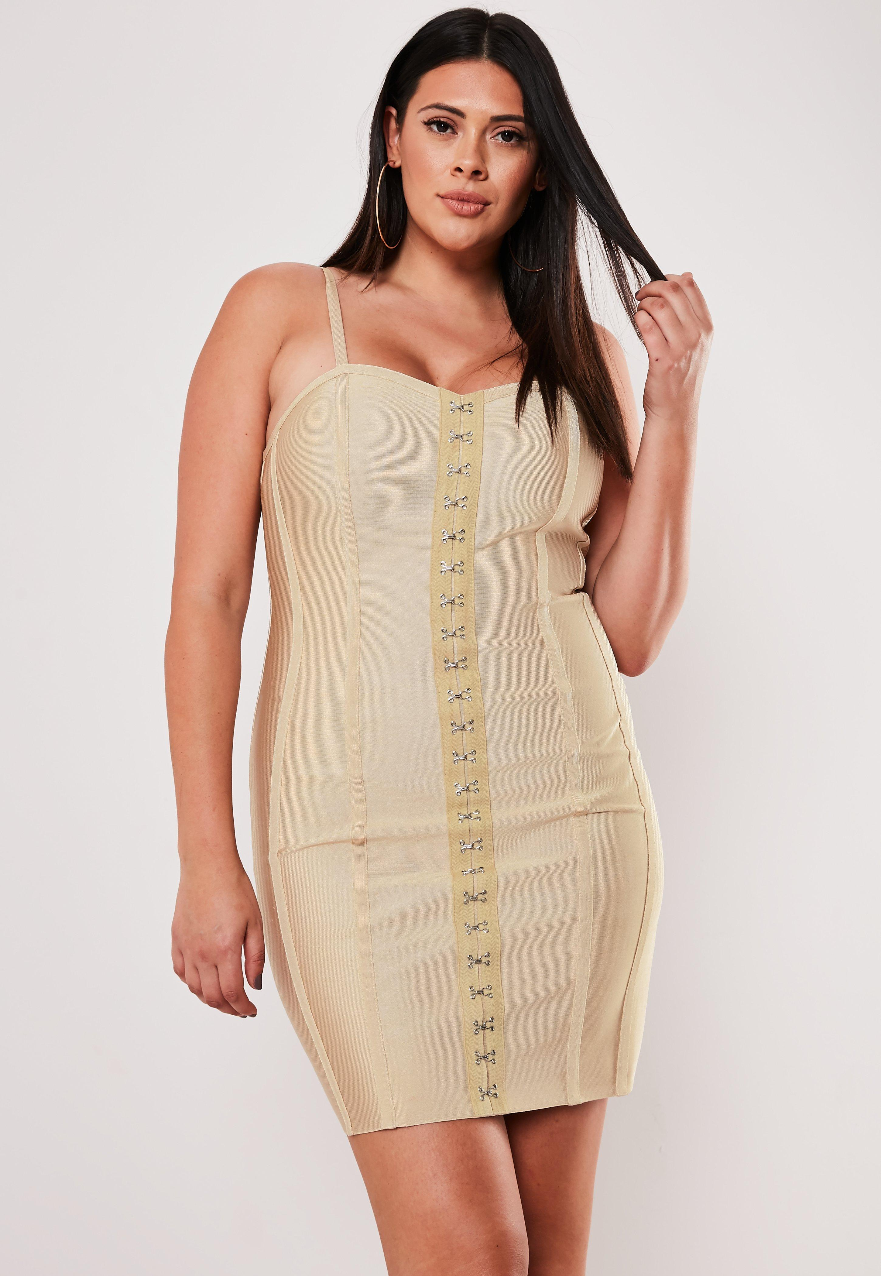 979db89563b6 Bandage Dresses | Figure Hugging Dresses - Missguided
