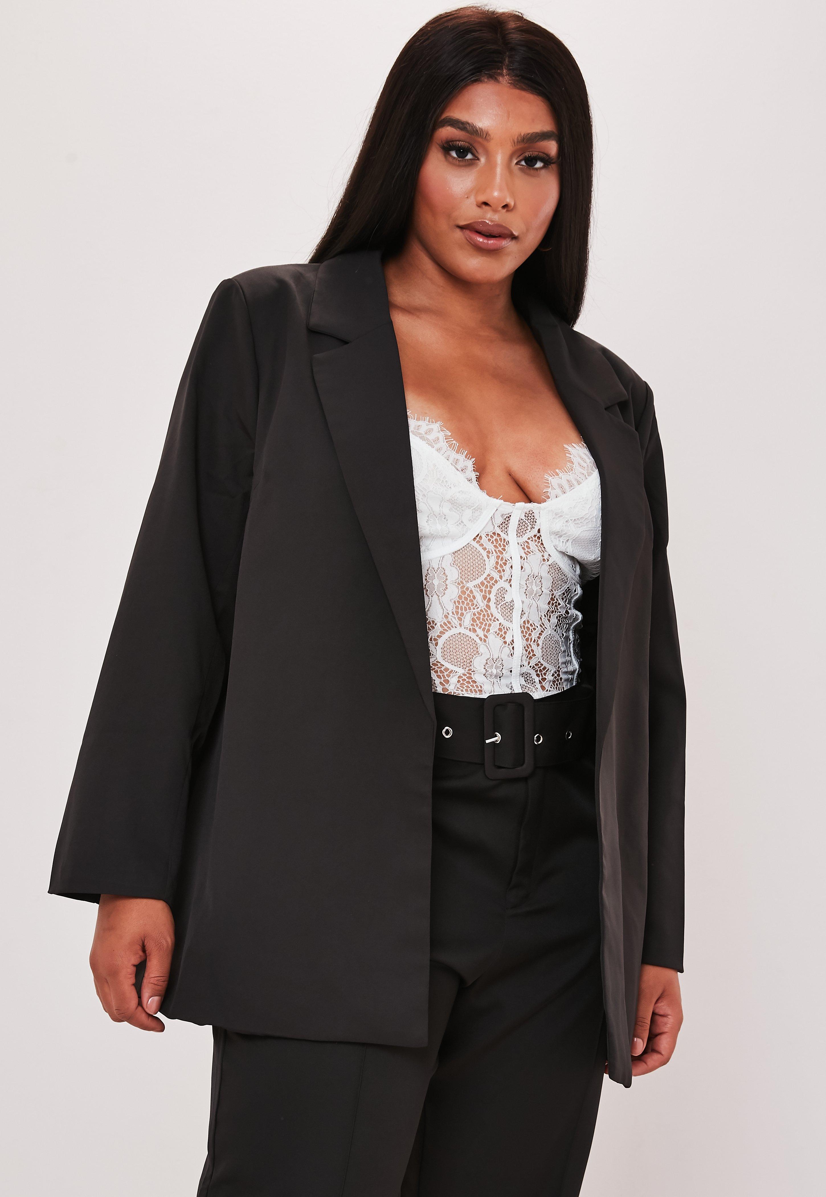 Blazer noir Achat blazer noir femme en ligne Missguided