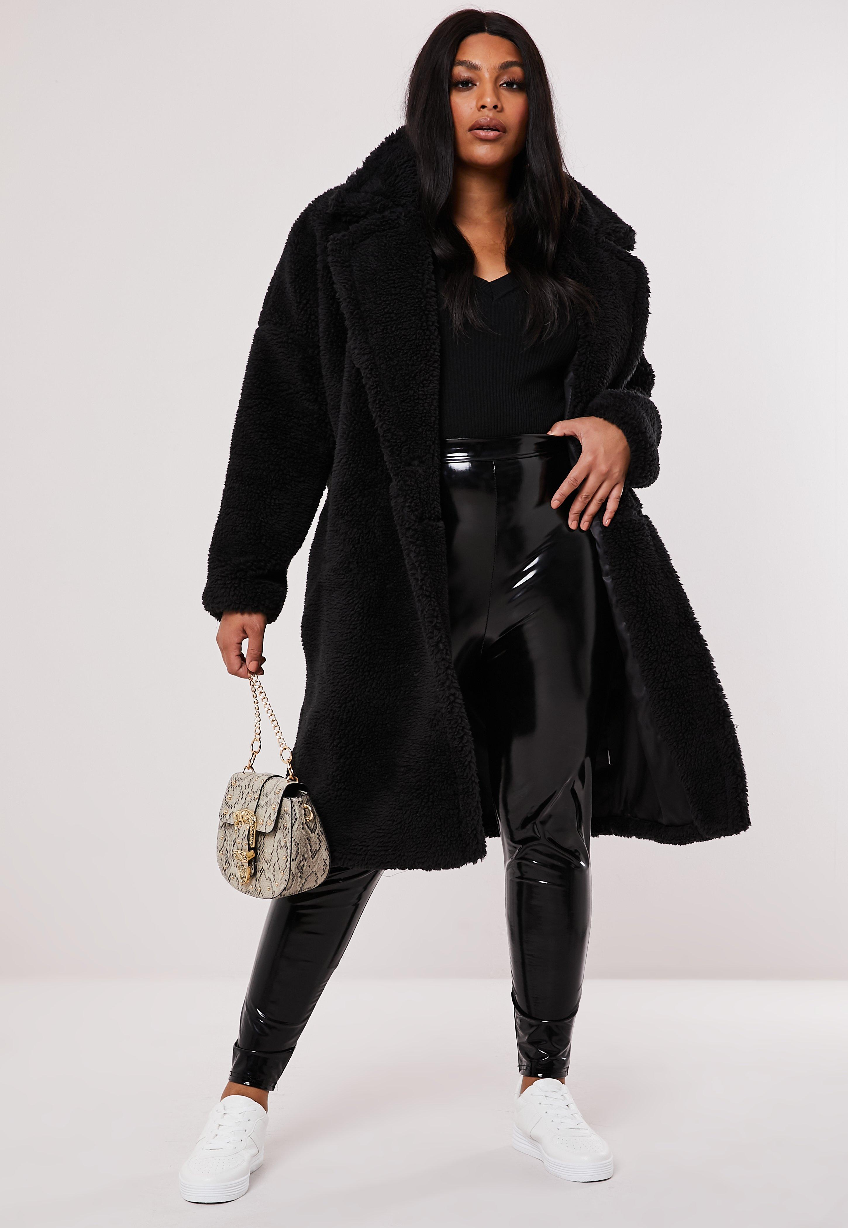 Plus Size Coats | Plus Size Winter Coats & Jackets Missguided