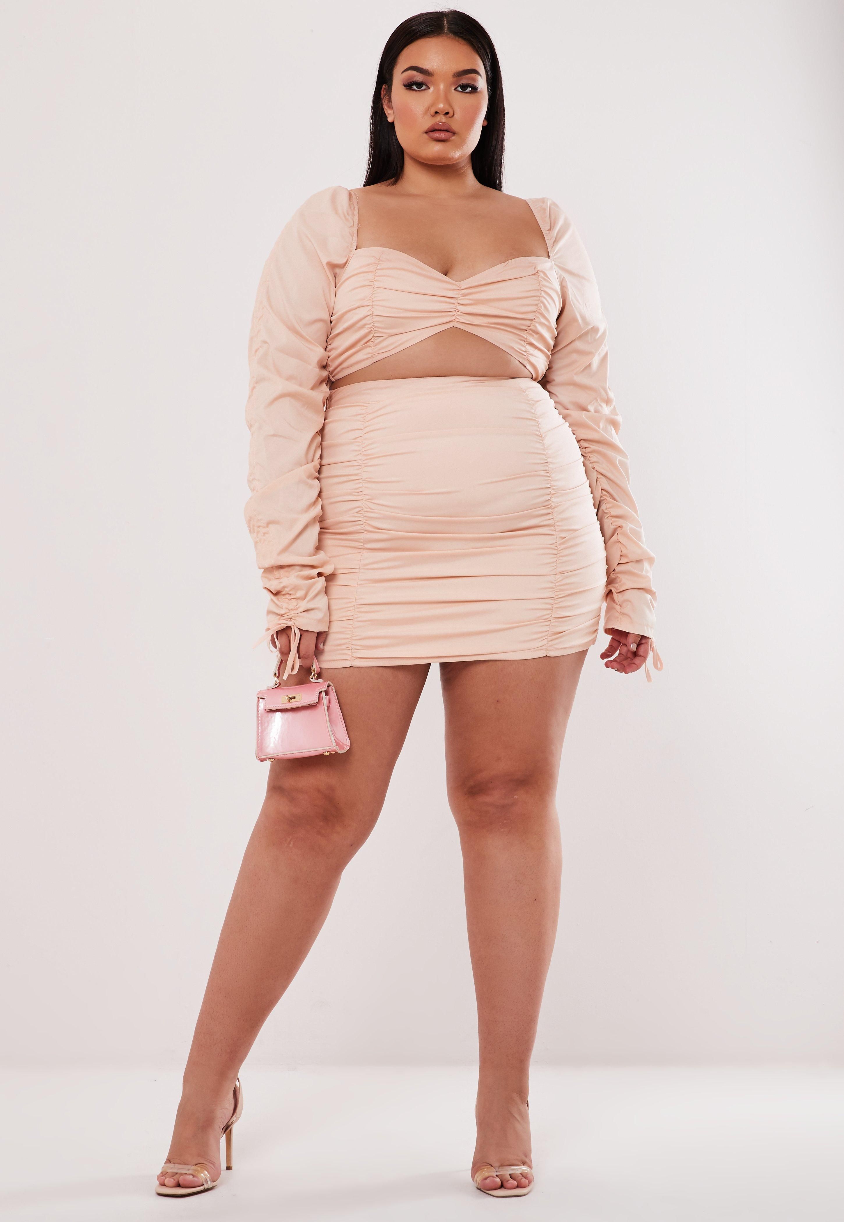Jupe grande taille | Jupe femme ronde Missguided
