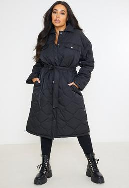 Amaeen Coats for Womens Temperament Mid Length Trench Coat Hooded Solid Color Overcoat Loose Soft Casual Jacket