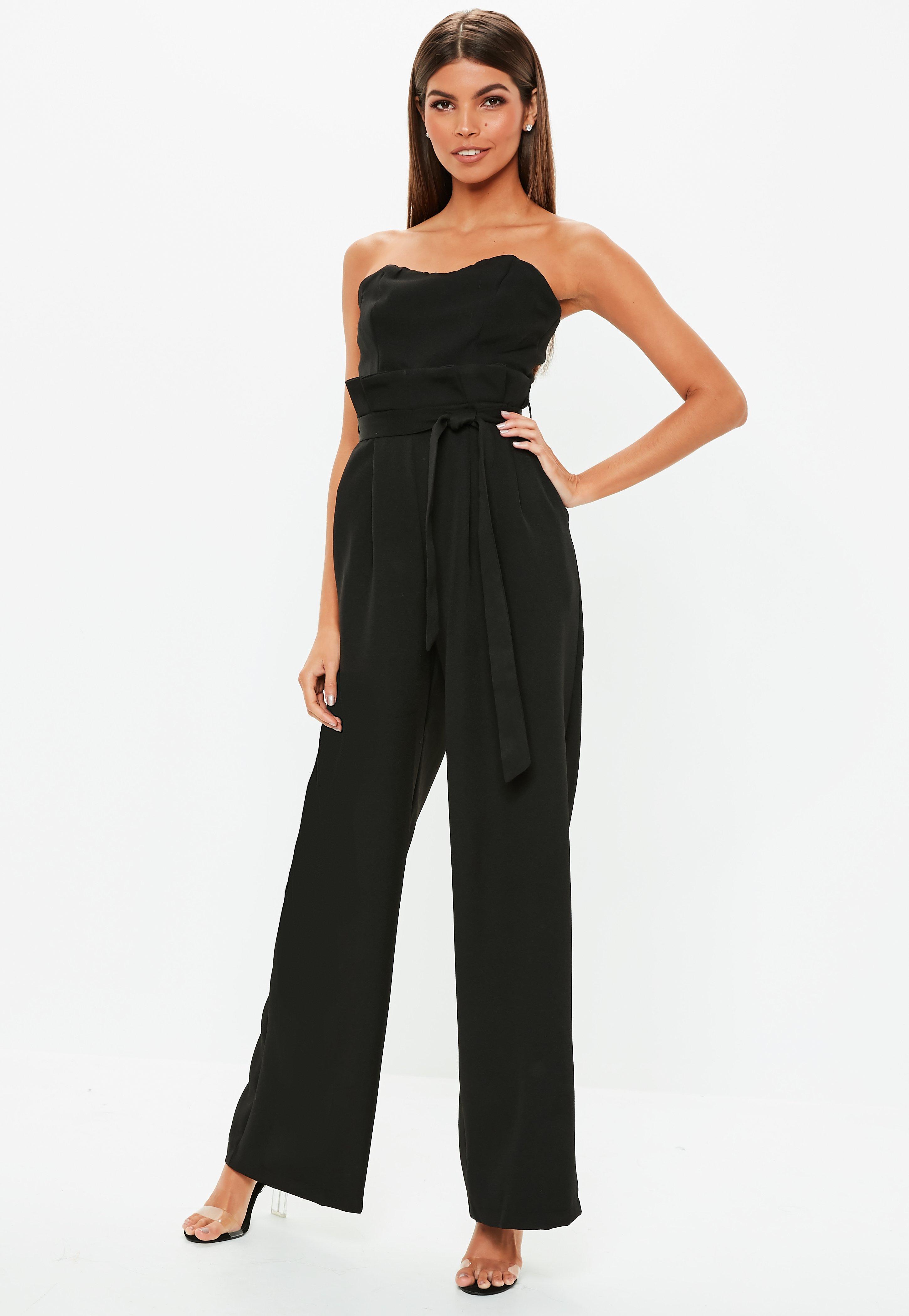 8500d042db6 Black Jumpsuits Online - Missguided