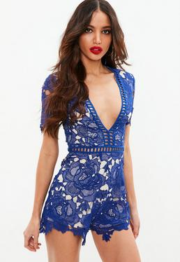 Blue Ladder Playsuit