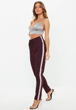 dec0edfe566c Red Trousers | Burgundy & Maroon Trousers - Missguided