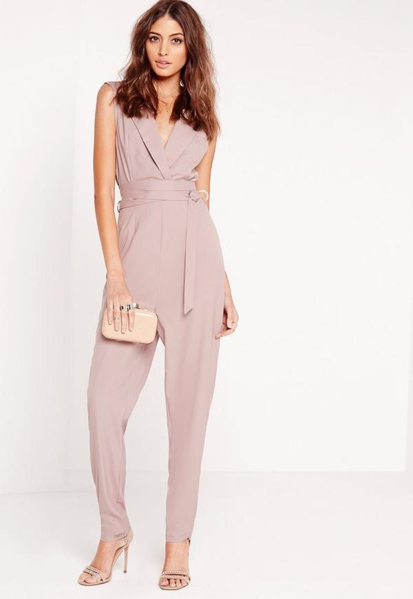 Tall D-Ring Jumpsuit Grey