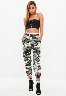 Tall Gray Camo Pants