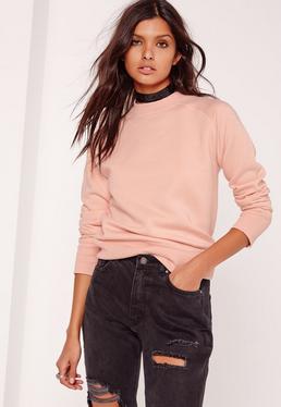 Tall Brushed Back Sweatshirt Pink