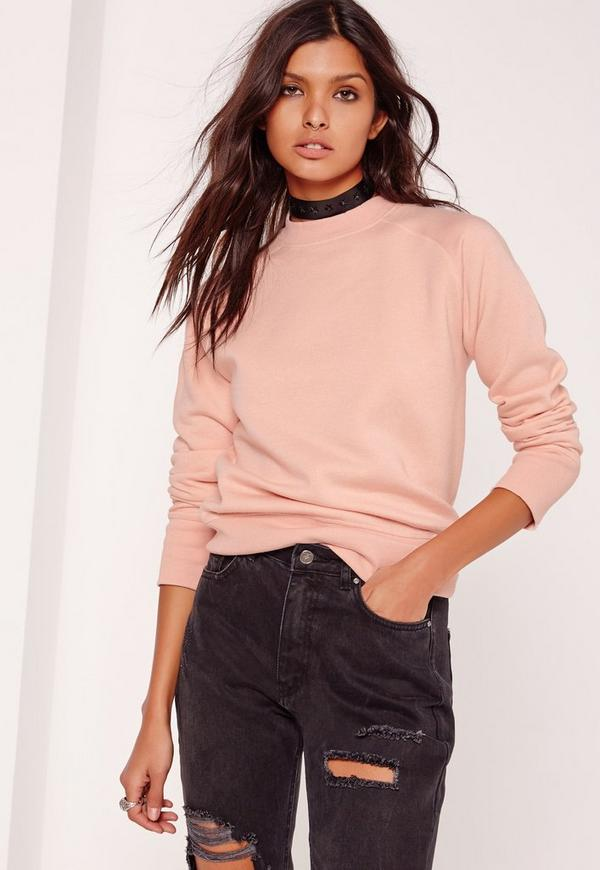 Tall Brushed Back Sweatshirt Pink
