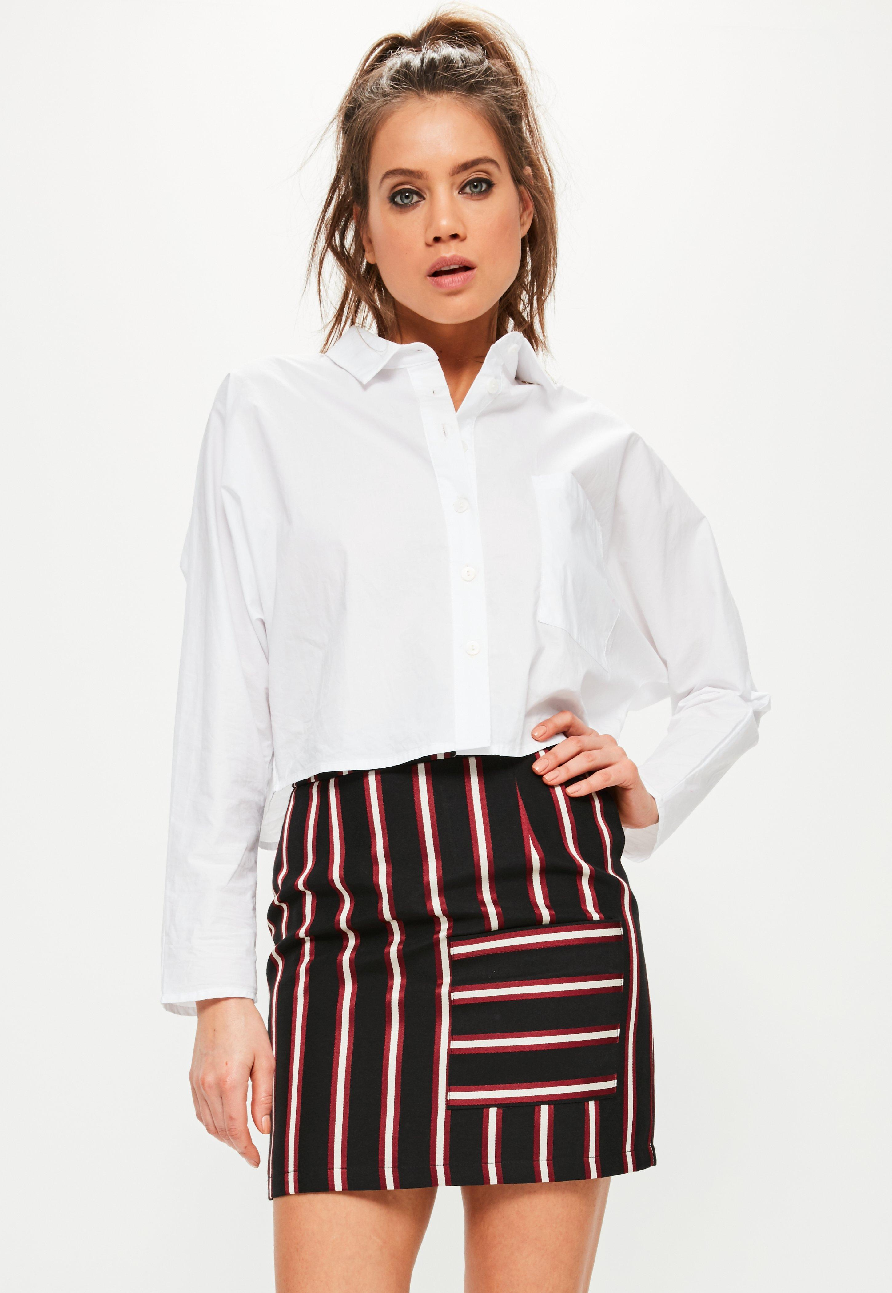 Missguided And Black Striped Pocket Front Shirt Cheap Sale Get To Buy Pre Order Sale Online Hot Sale Sale Online Outlet For Sale urdVFC11E