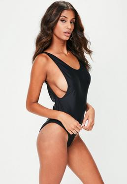 Tall Black Swimsuit