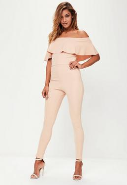 Tall Pink Tapered Trousers