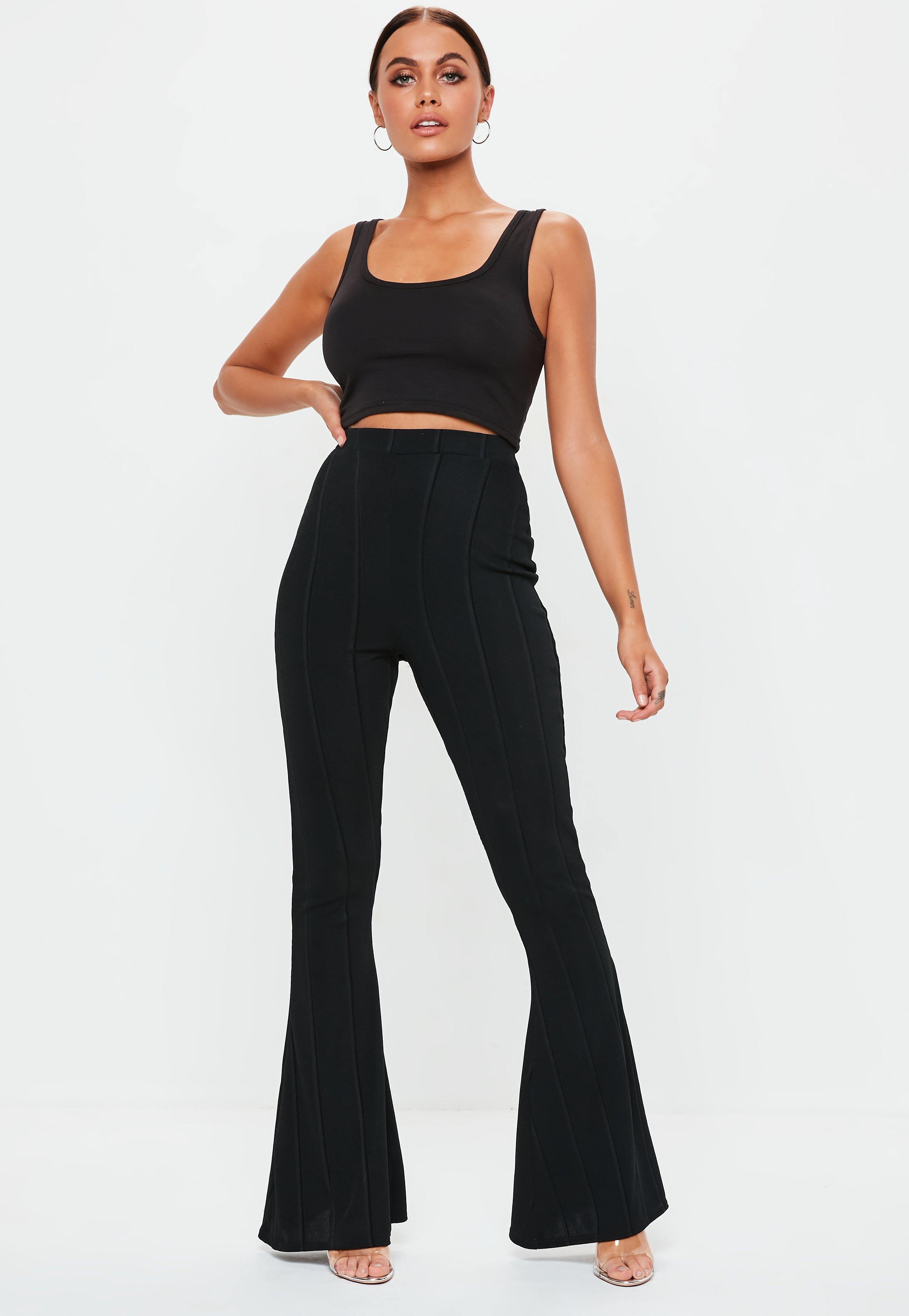 1a54544782c1e1 Flared Trousers | Flares & Bootcut Trousers - Missguided