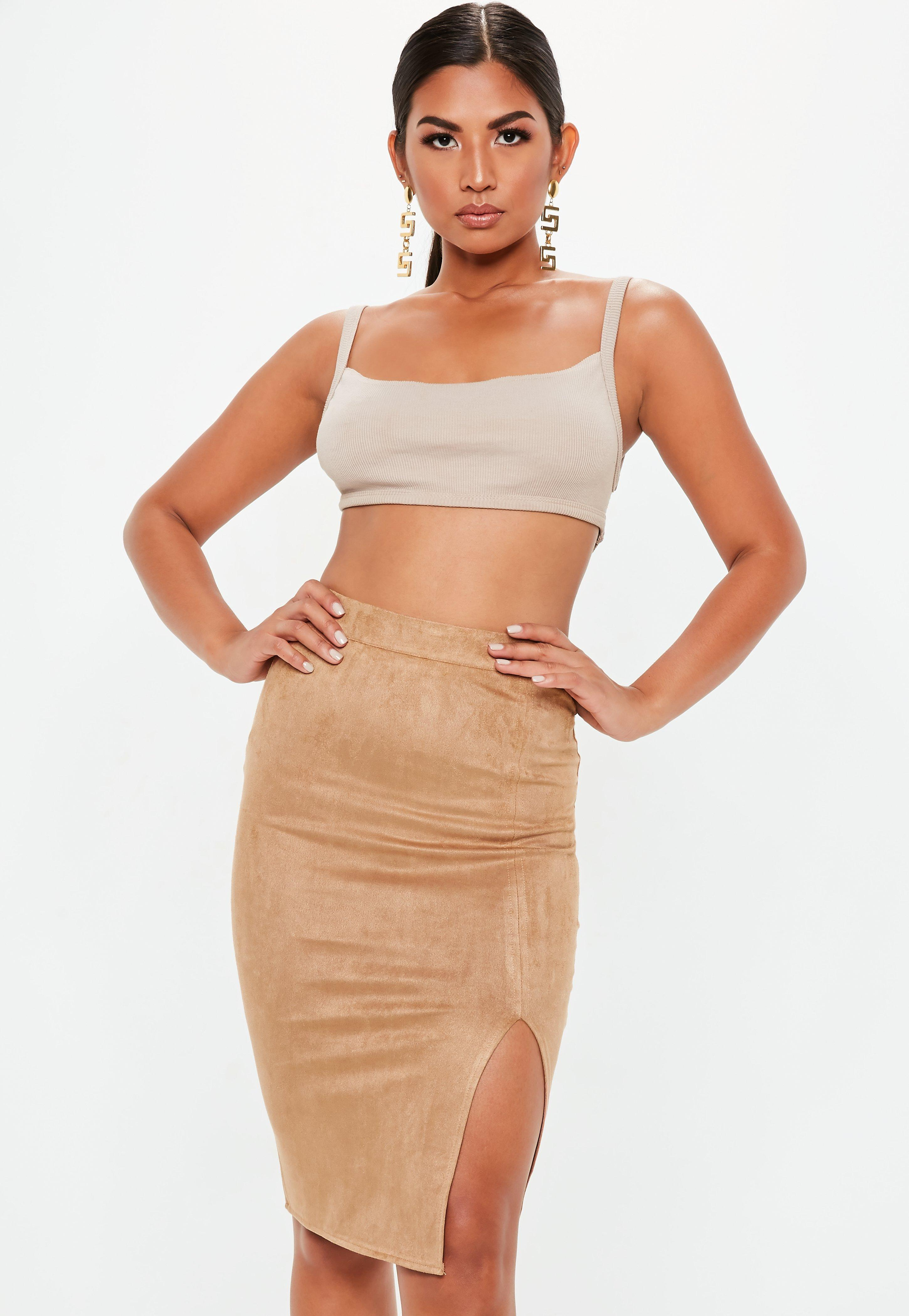 Jupe tall pour femme - Missguided 05798fb9d4fb