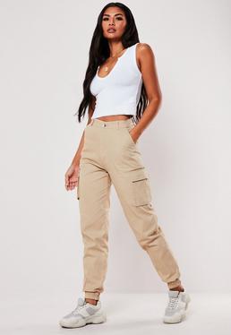 64e14a78db01 ... Tall Tan Plain Cargo Pants