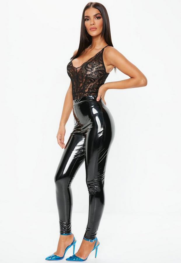 Missguided - Strappy Lace Bodysuit - 3
