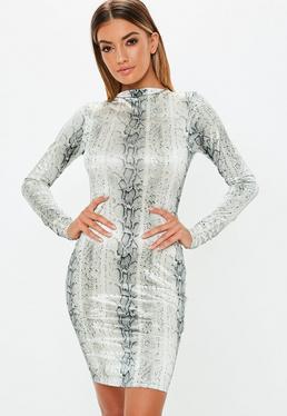 496ac6ff911 High Neck Dresses