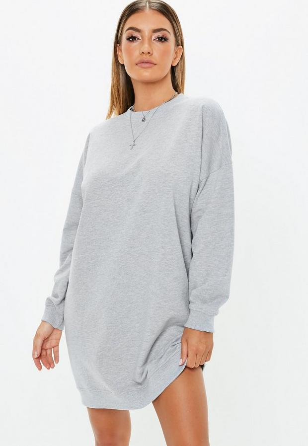 Missguided - Oversized Sweater Dress - 1