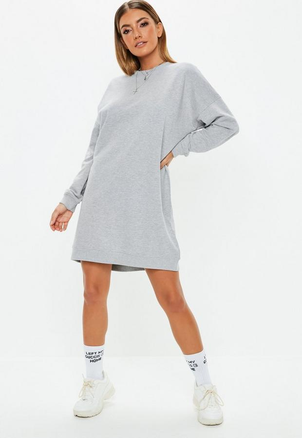 Missguided - Oversized Sweater Dress - 2