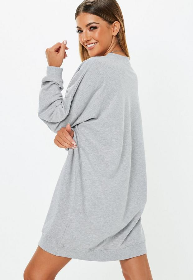 Missguided - Oversized Sweater Dress - 4