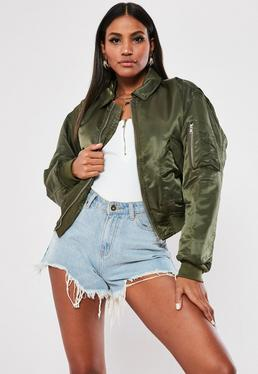 d236a35181a39 Bomber Jacket | Women's Black Bomber Jacket | Missguided