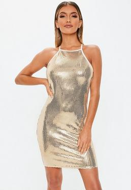 Rose Gold Dresses. Bodycon Mini Dresses 701cd114f6