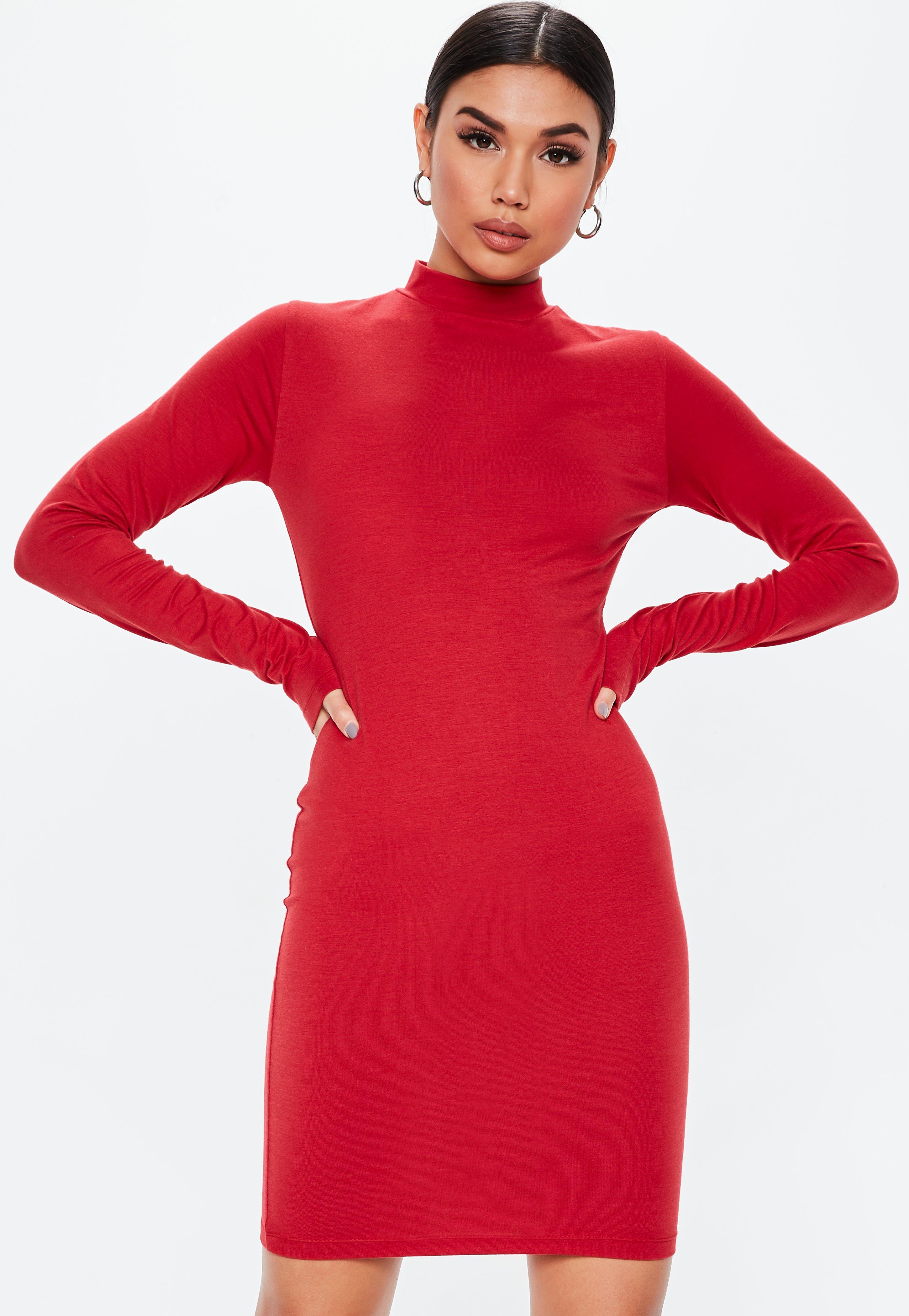 721bd3c94a0 Red Dresses