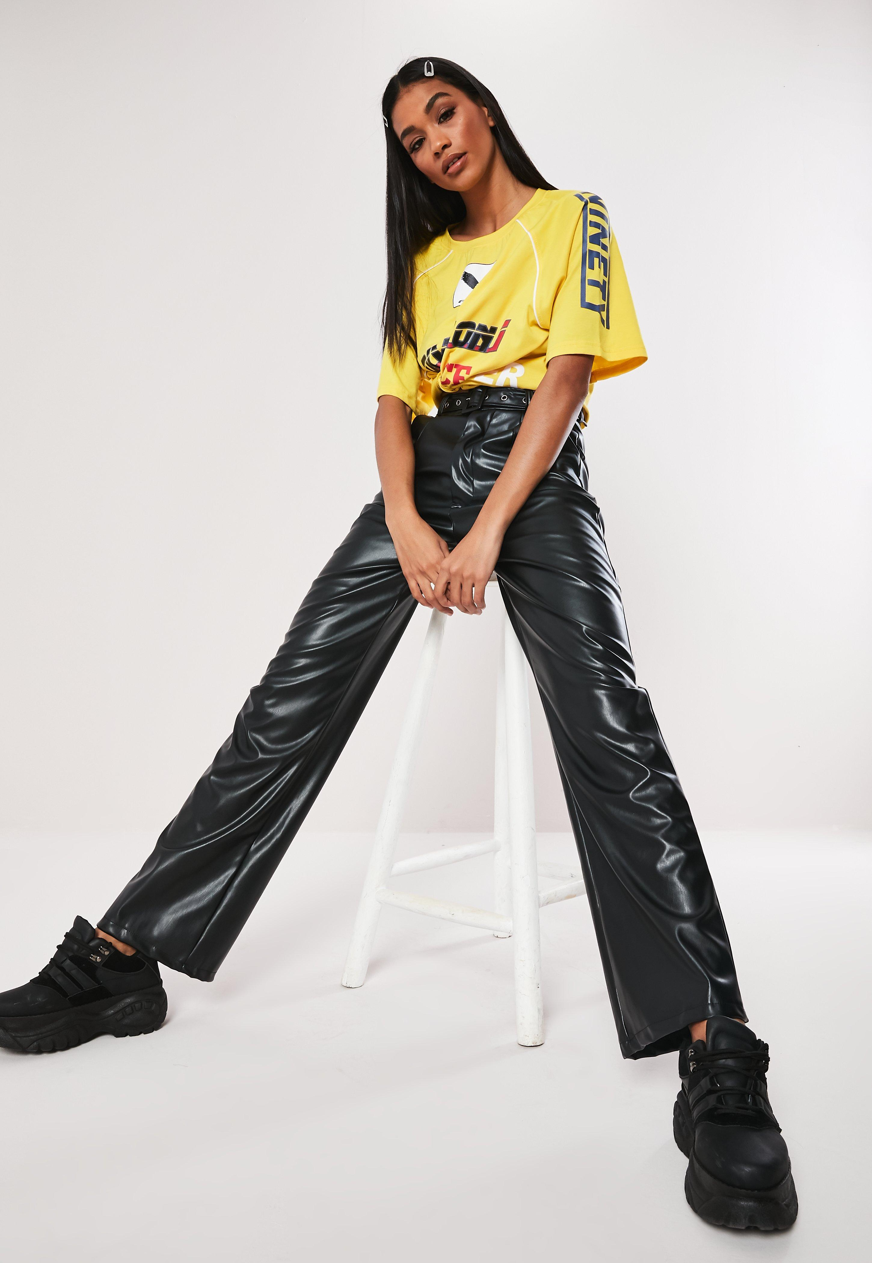 579a833482650 Leather Trousers | Faux Leather Trousers | Missguided