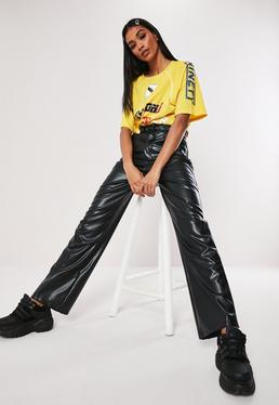 1474075394 Wide Leg Trousers | Palazzo Trousers | Missguided