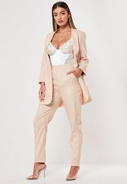 fe4fb3b7041cf Tapered Pants, Tailored & Slim Fit Pants | Missguided