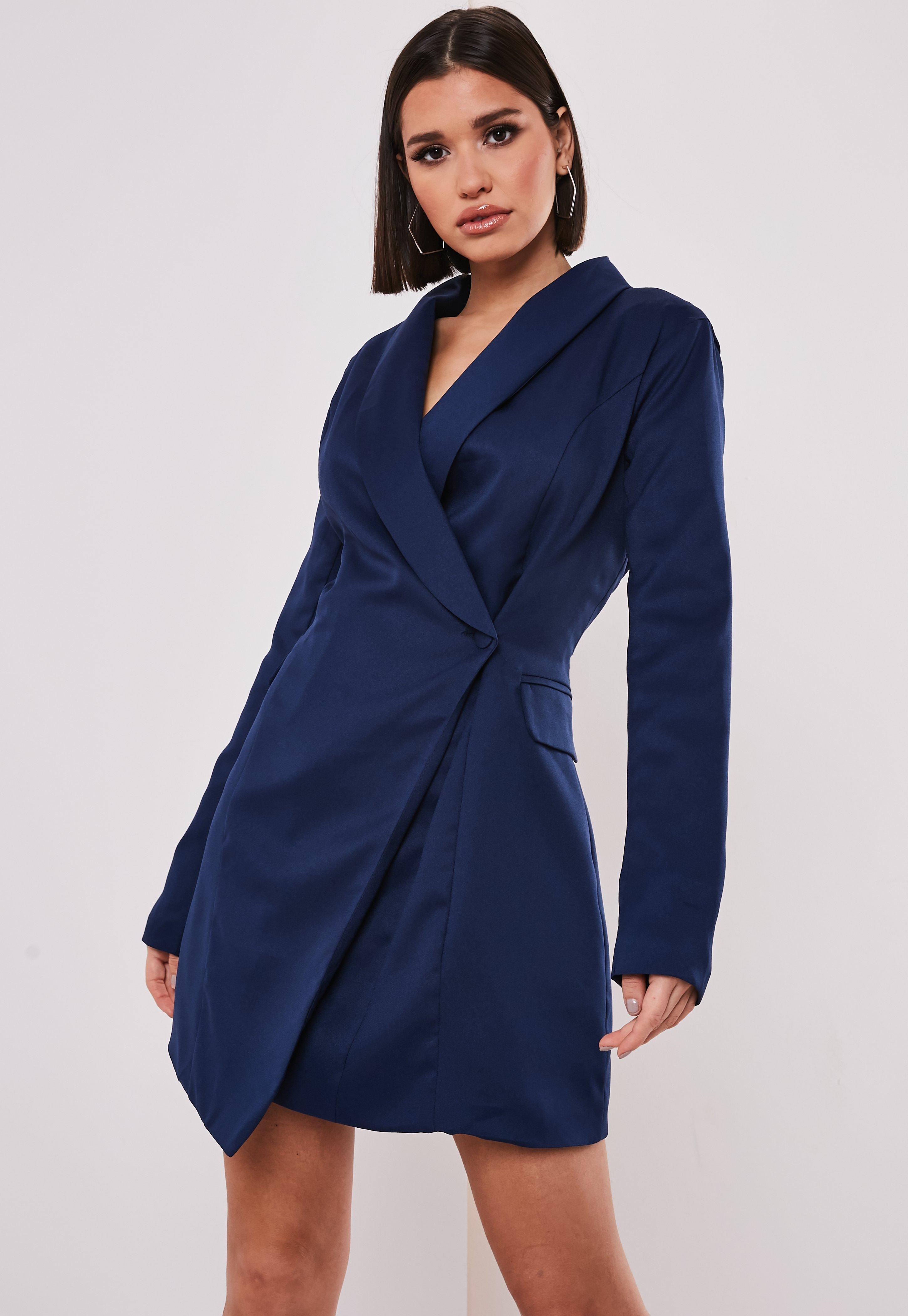 new styles a3fea 11e15 Blazer Dresses   Women s Tux Dresses - Missguided