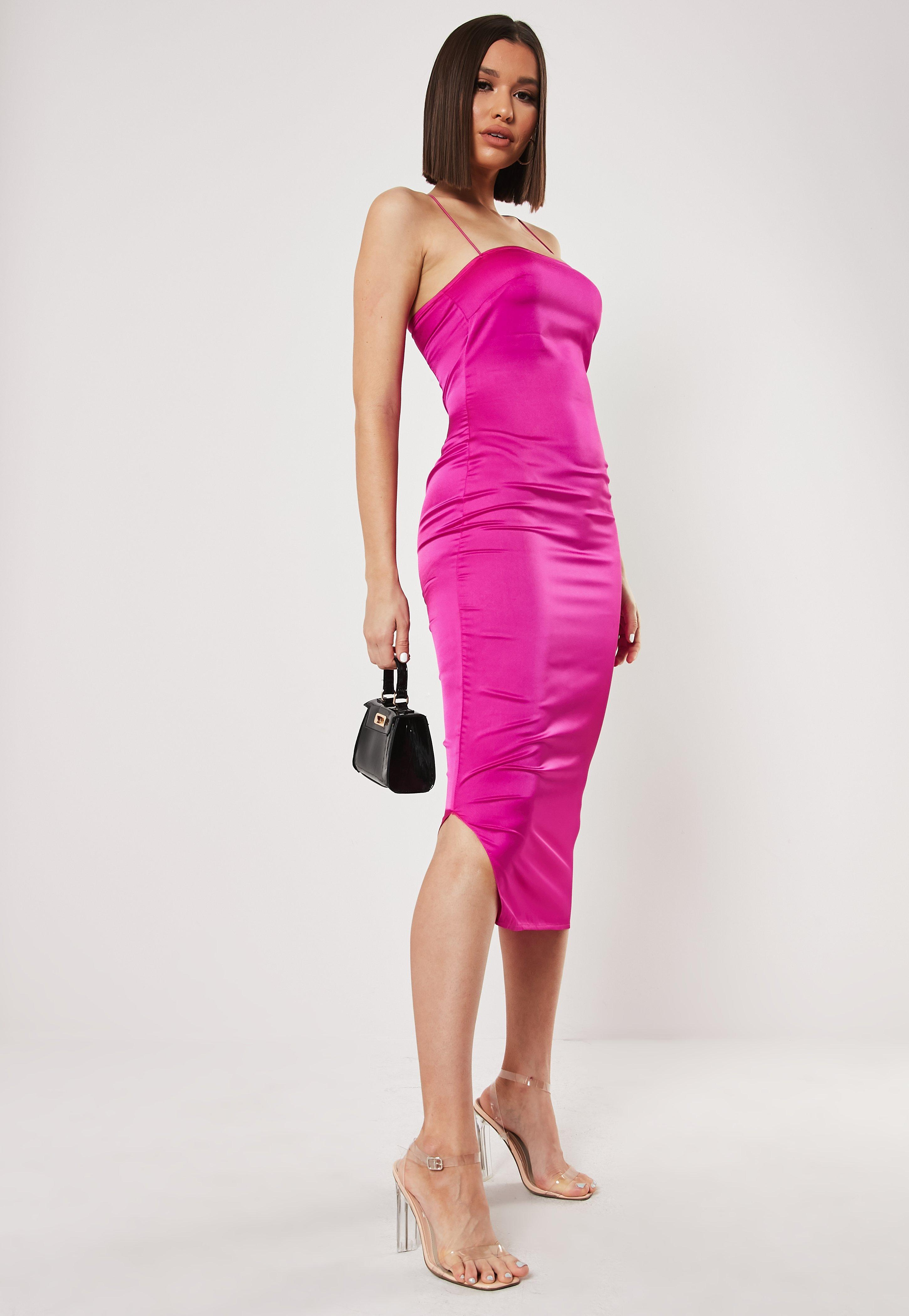 fab8c918b01d Satin Dress - Silky Dresses Online | Missguided
