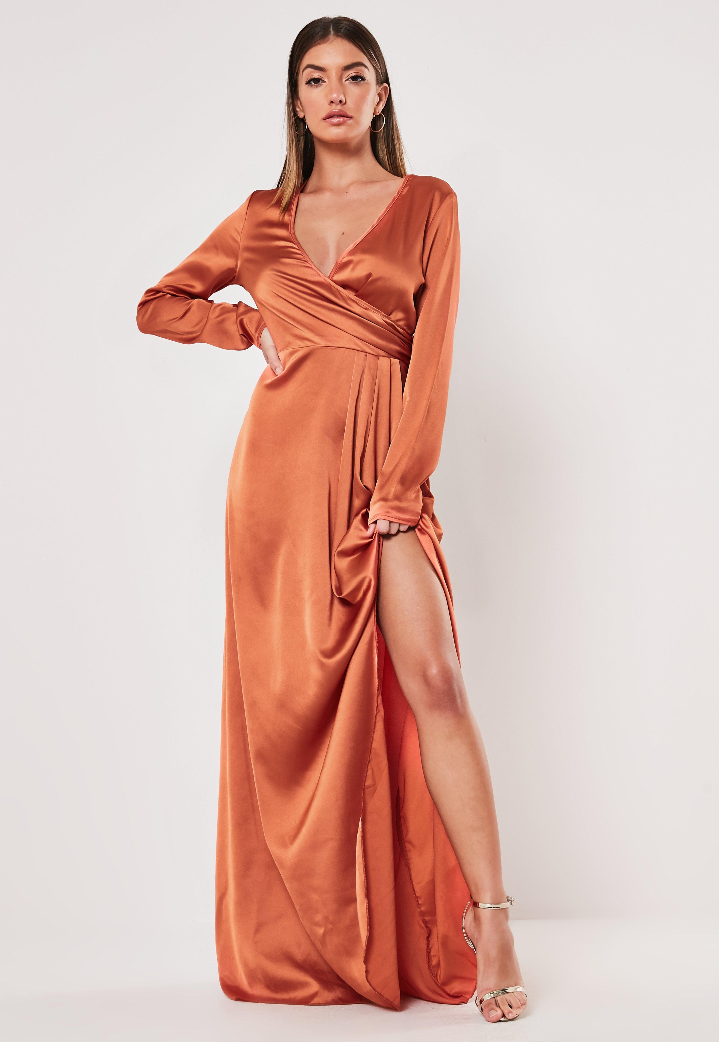 5a70c8508742 Wrap Dresses | Tie Waist Dresses - Missguided