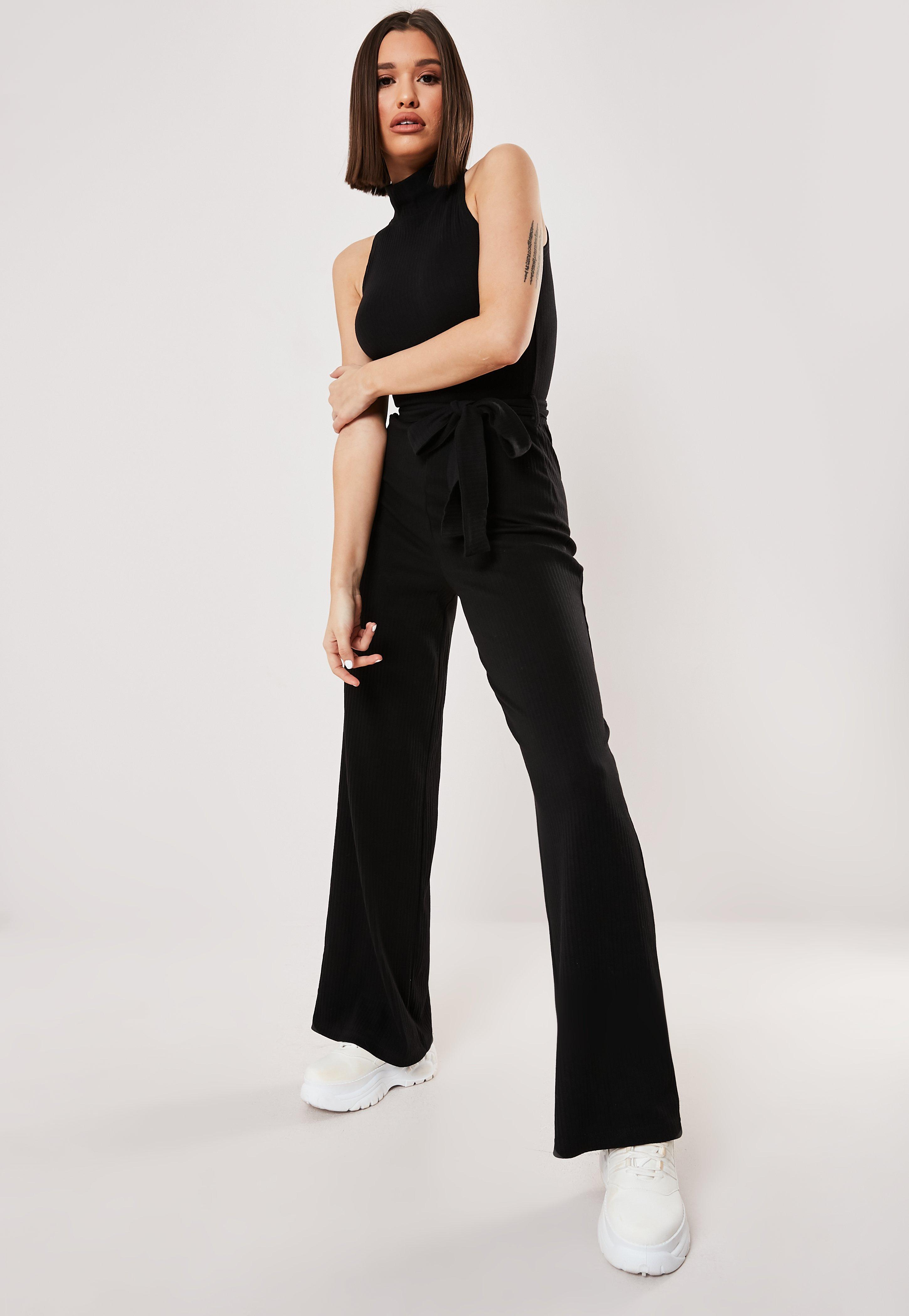 f2f622070a97 Black Jumpsuits | All Black Jumpsuits - Missguided