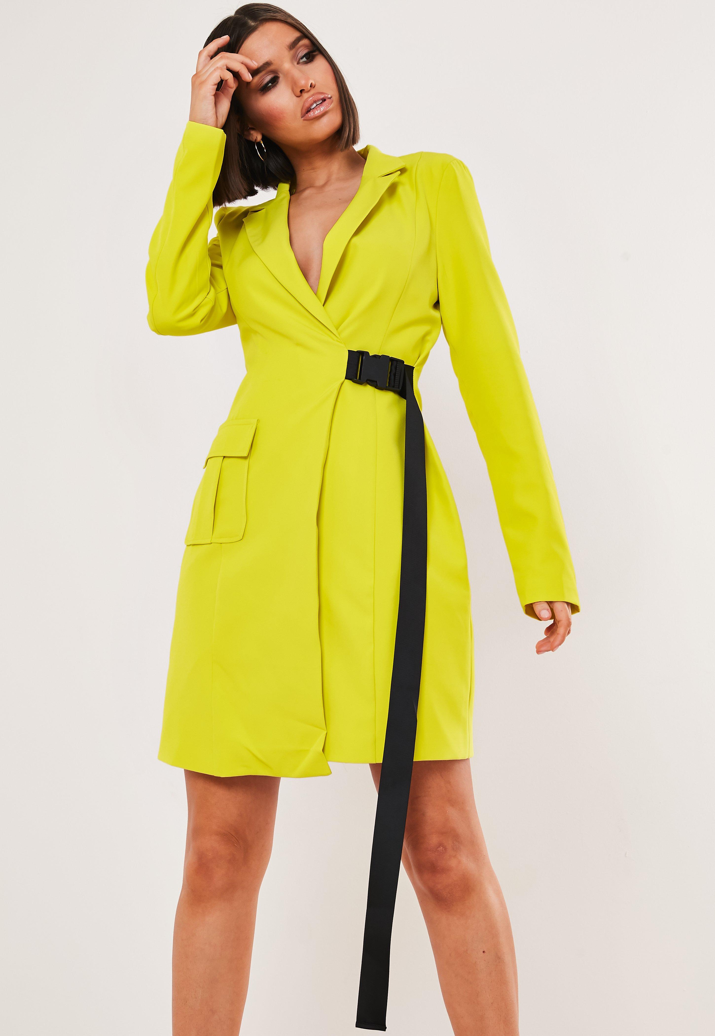 b9d23e4f427c Blazer Dresses | Shop Tuxedo Dresses - Missguided
