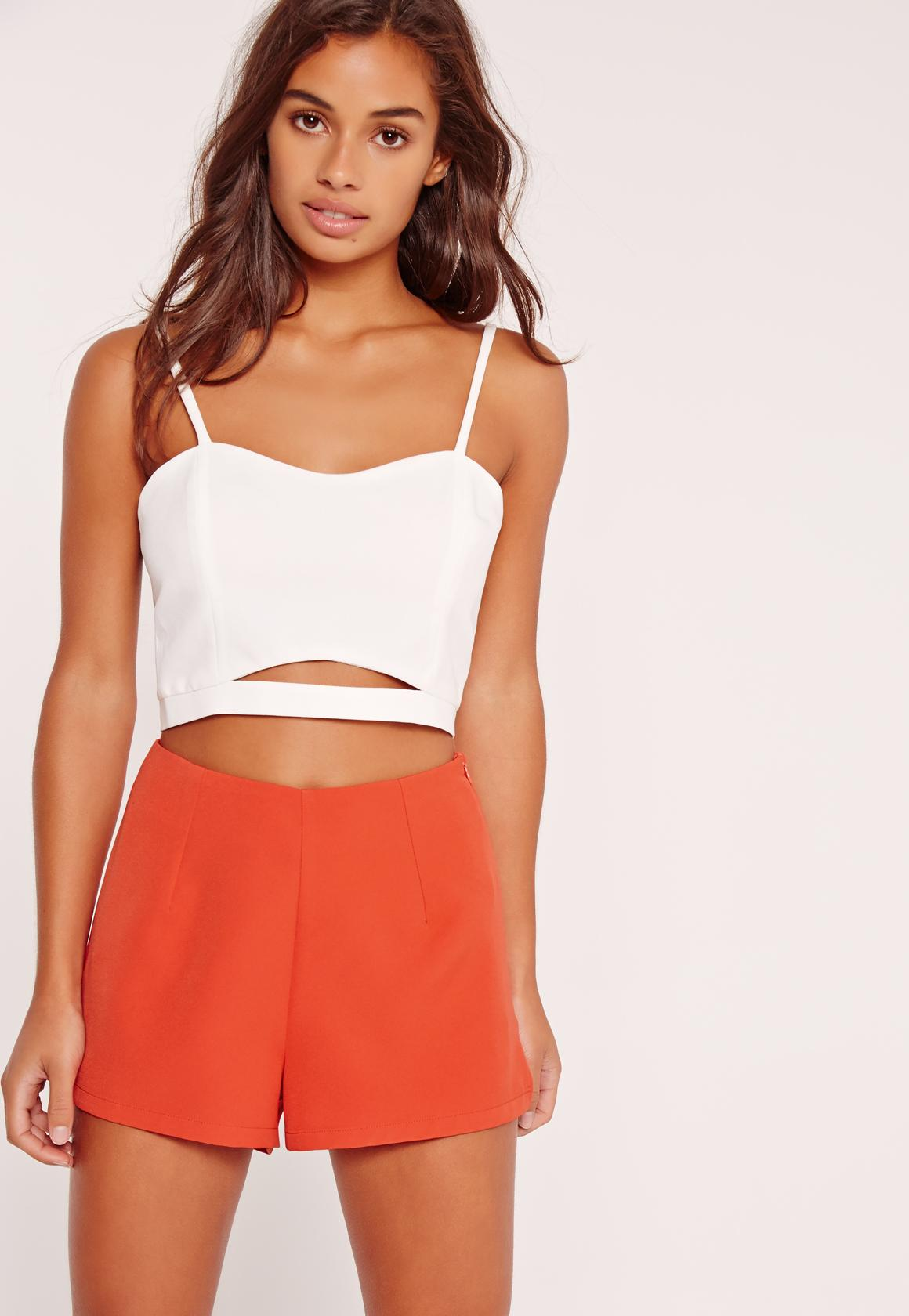 Free Shipping Buy Cheap Latest Missguided High Waist Tailored Shorts Designer Clearance Finishline 8v1Y1Ox3