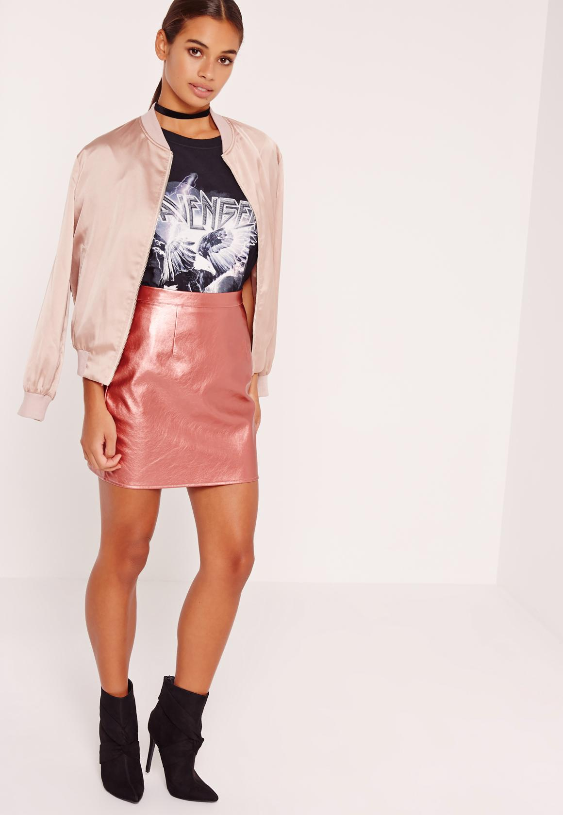 Hot Sale Cheap Price Missguided Petite Metallic Mini Skirt Outlet Cheap Outlet 2018 New v79z4Hja0k