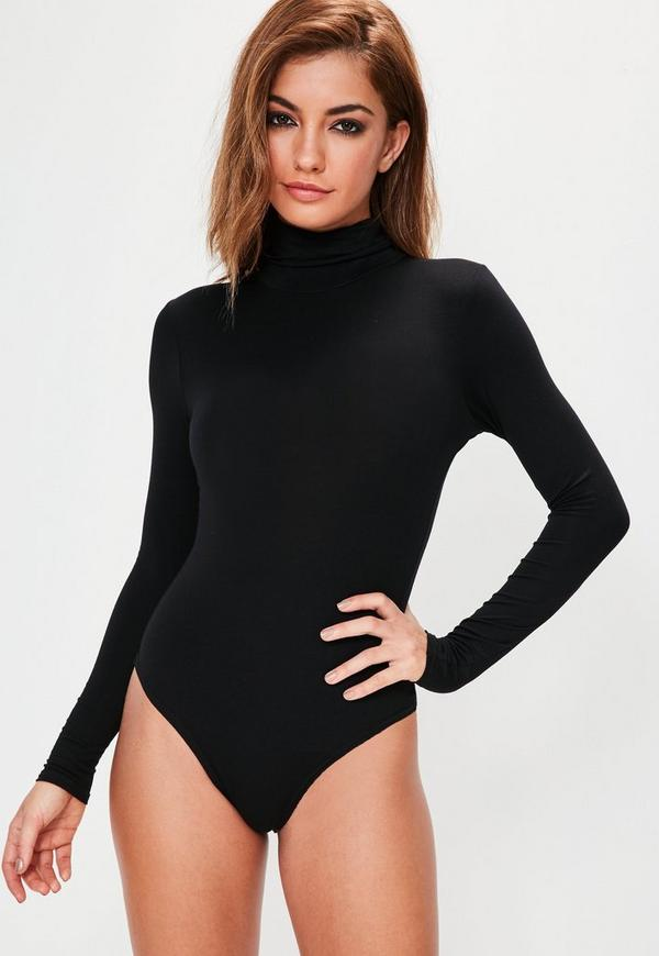 Choose from our range of leotards and lace all in ones to leather bodysuits at ASOS. your browser is not supported. To use ASOS, we recommend using the latest versions of Chrome, Firefox, Safari or Internet Explorer ASOS DESIGN body with turtleneck and long sleeve in black. $ ASOS DESIGN Blair high leg lace bodysuit with lace up back.