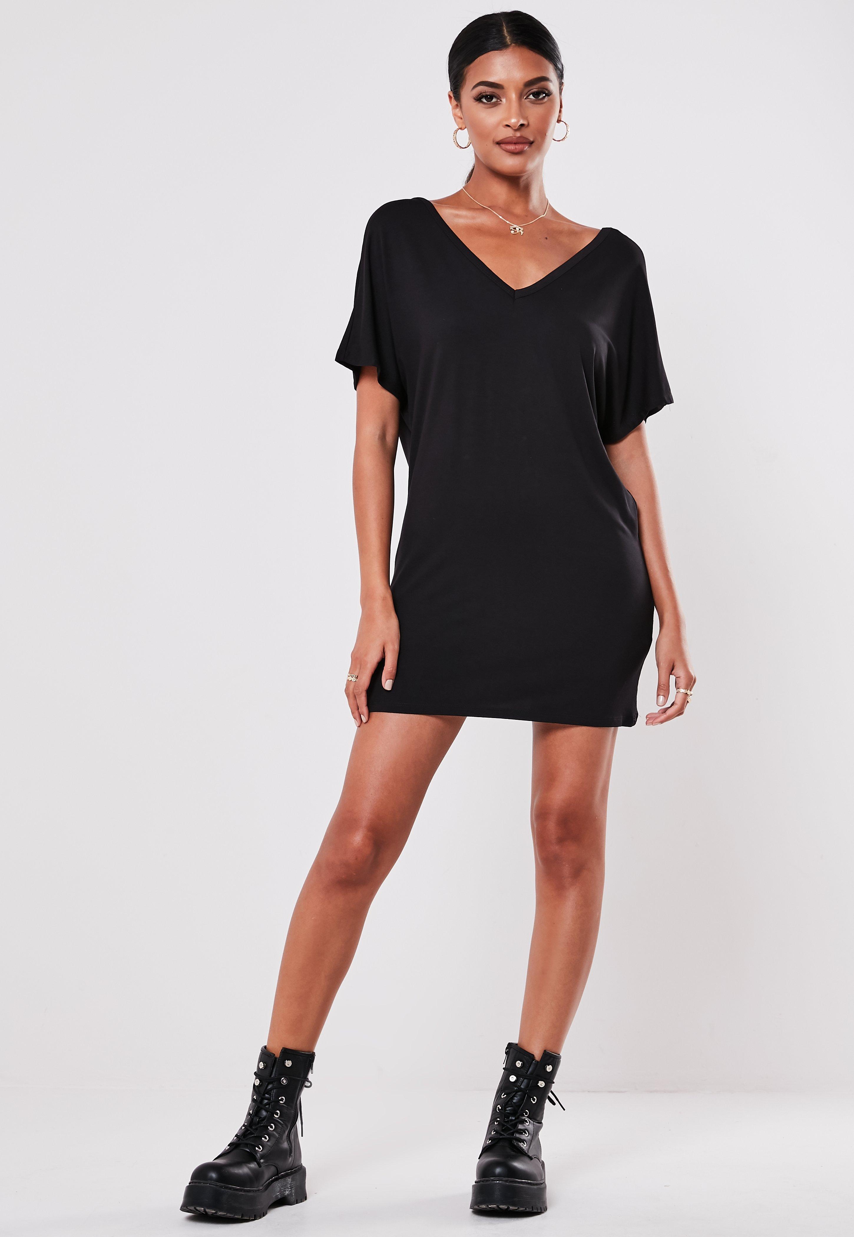 57ba24b912ca9 T Shirt Dresses | Printed & Slogan T-Shirt Dresses - Missguided