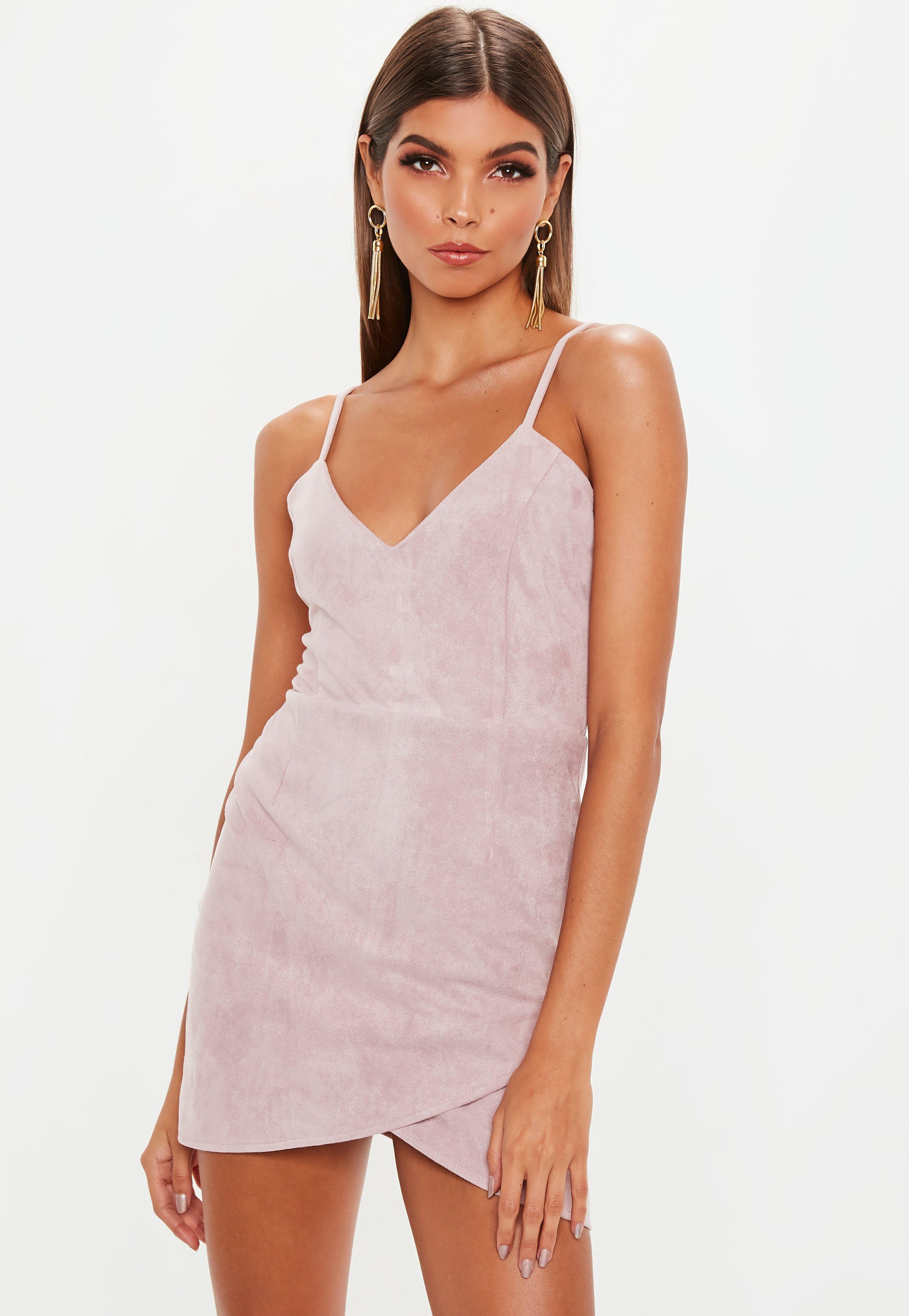 pink mini dress