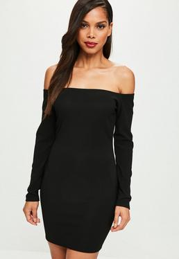 Petite Black Bodycon Dress