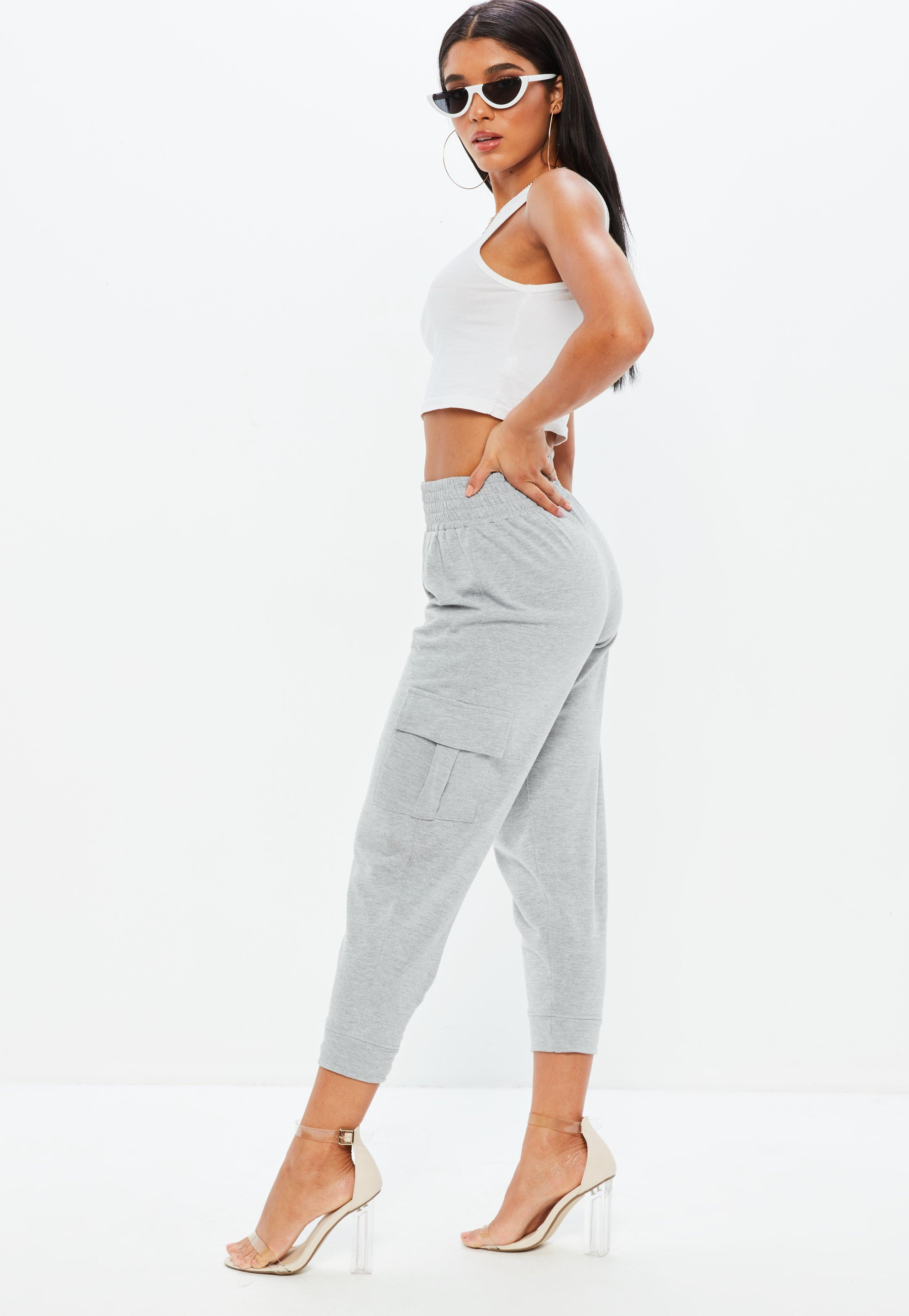 Missguided Petite Premium Loop Back Cargo Joggers Clearance Release Dates Free Shipping Original Shop Offer Sale Online Clearance Collections The Cheapest ROOX1fbFjI