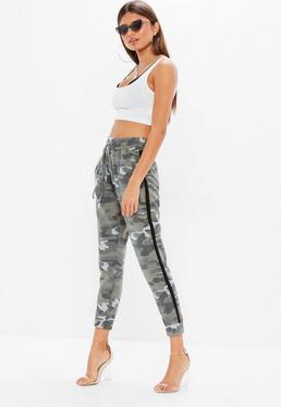 Petite spodnie joggersy w kolorze khaki