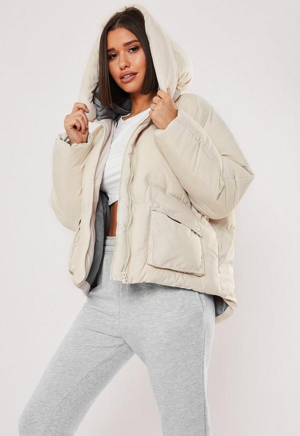 Petite Nude Ultimate Hooded Puffer Jacket